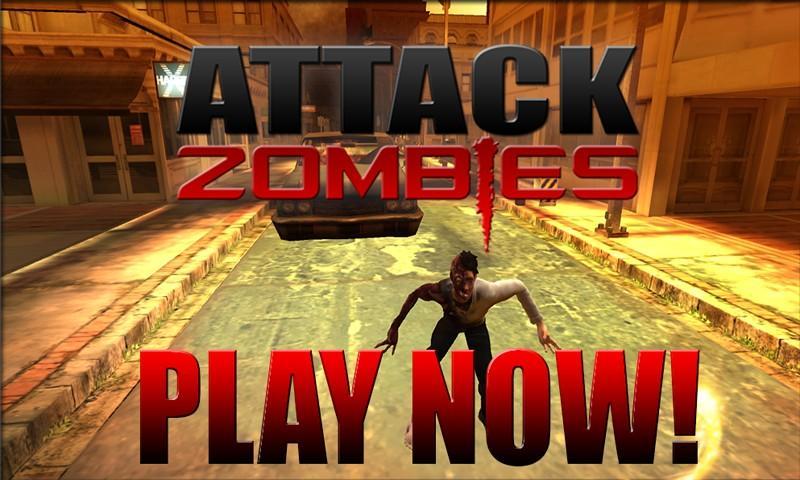 Attack Zombies 3D screenshot 2