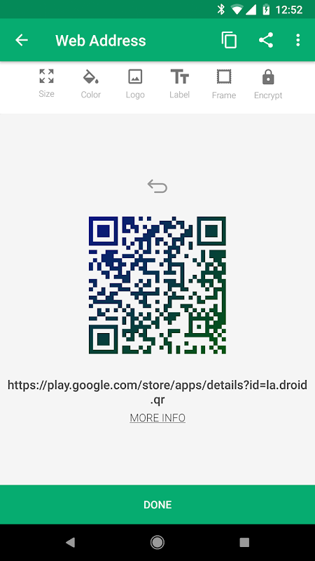 QR Droid screenshot 7