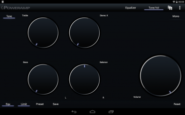 poweramp music player trial screenshot 3