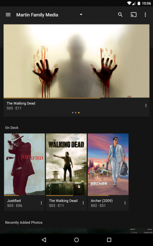 Plex: Stream Movies, Shows, Music, and other Media screenshot 8