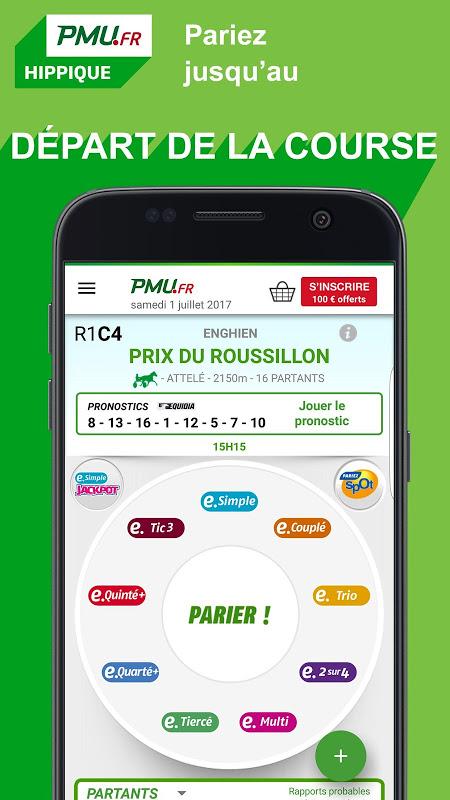 PMU Hippique – Courses, Turf, Quinté, Tiercé, Pari screenshot 2