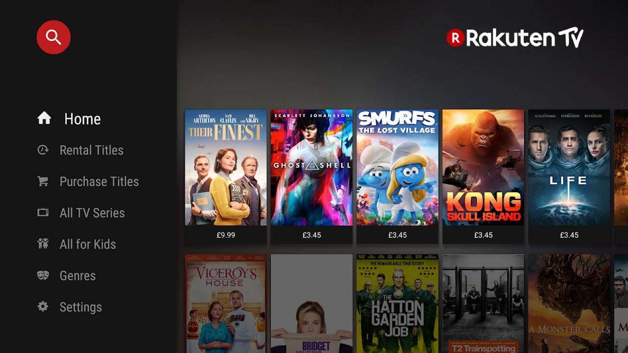 Rakuten TV - Movies & TV Series (Android & Android TV) screenshot 1