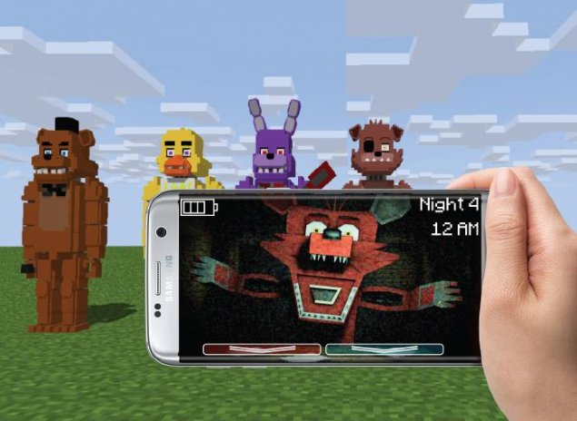 Guide FNAF Five Nights at Freddy for Minecraft PE 1 9