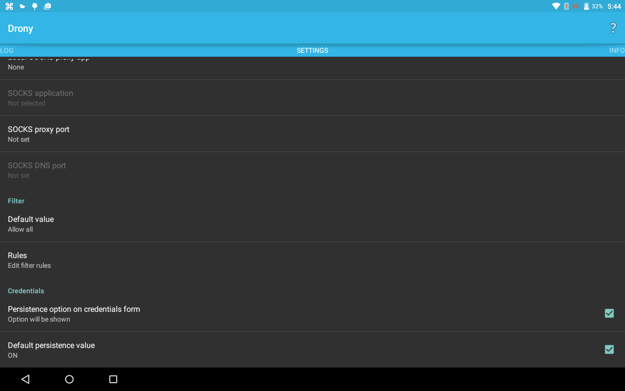 Drony screenshot 2