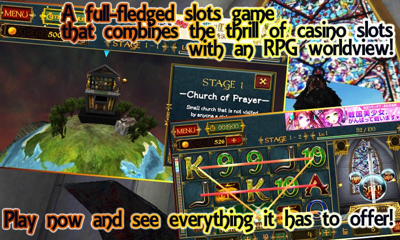 3D Slots RPG【HD Slot Machine】 screenshot 1