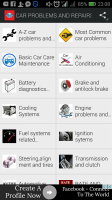 CAR PROBLEMS AND REPAIRS Screen