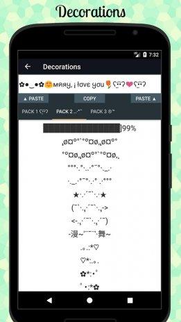 Symbols Emojis Letters Nicknames Text Arts Pro 351 Pro