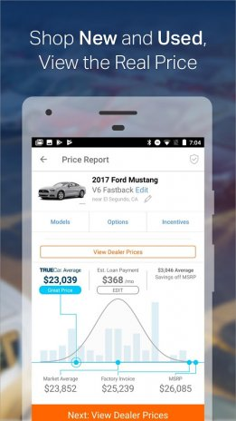 Car Shopping App >> Truecar The Car Buying App Find New Used Cars 11 7 1