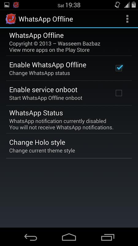 whatsapp offline lesen android