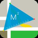 GPS Map Ruler - Distance Measure & Area Measure