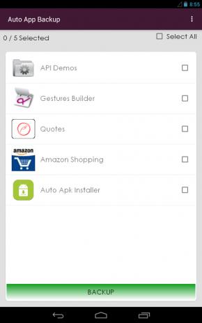 Auto Apk Installer & Backup2 3 tải APK dành cho Android - Aptoide