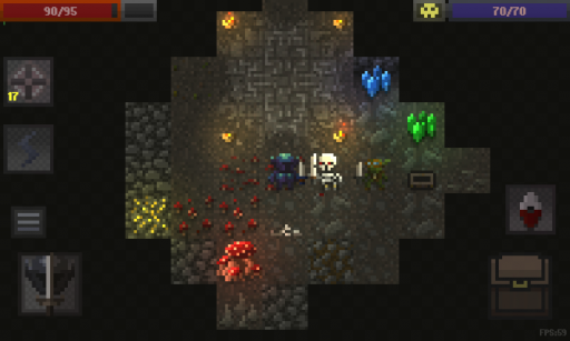 Caves (Roguelike) screenshot 1