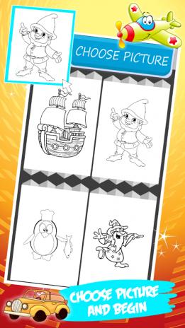 Libro para colorear para chico 1.3 Descargar APK para Android - Aptoide