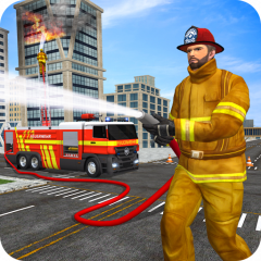 Rescue Firetruck Real Driver: Fire Emergency Games 1 0