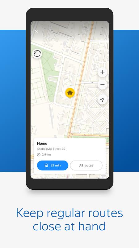 Yandex.Transport screenshot 1