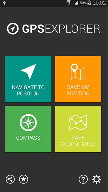 GPS Compass Explorer screenshot 2
