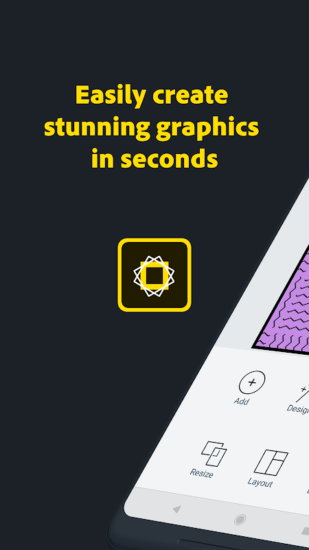 Adobe Spark Post: Graphic design made easy screenshot 1