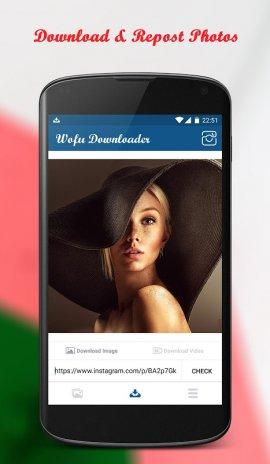 Wofu Downloader for Instagram, Video & Photo 2 6 Download