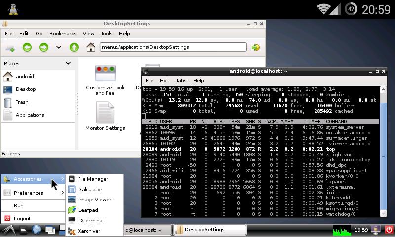 Linux Deploy screenshot 1