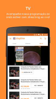 Shoptime - Loja virtual com ofertas da TV screenshot 2