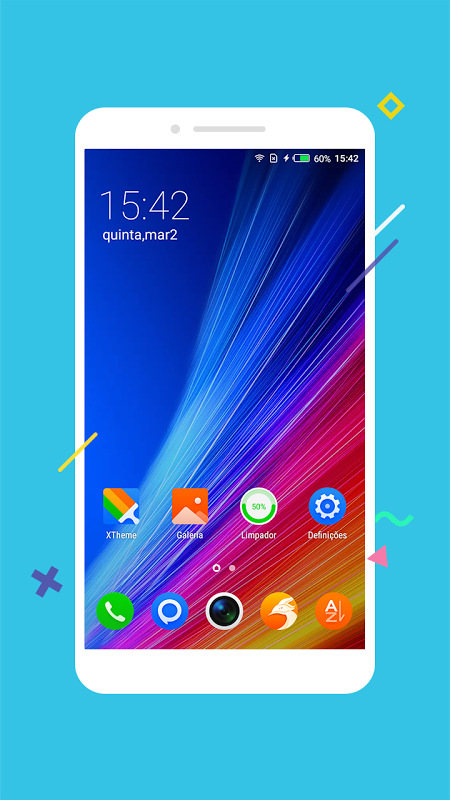Lançador XOS (2019)-personalizado,fresco,elegante screenshot 1