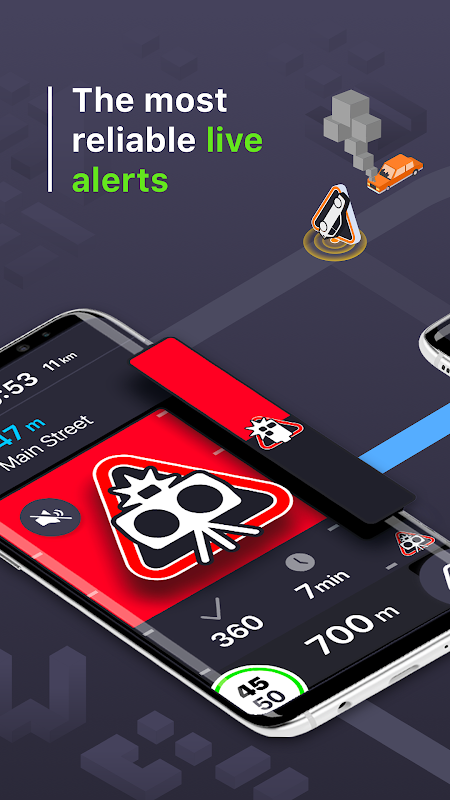 Coyote: Alerts, GPS & traffic screenshot 1