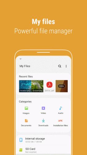 Samsung My Files screenshot 2