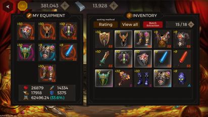 Secret Tower : 500F v 84 Мод (Player Atk 100x/Enemy Atk 50%) 2