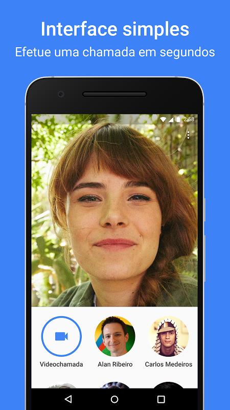 Google Duo - Videochamadas de Alta Qualidade screenshot 1
