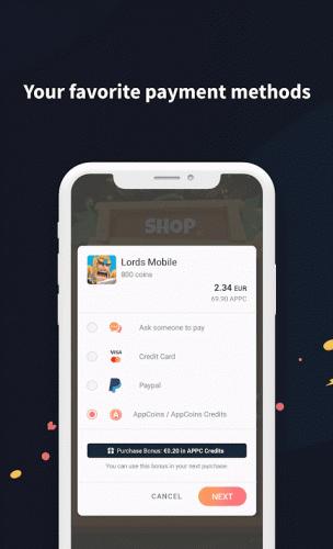 AppCoins Wallet screenshot 4