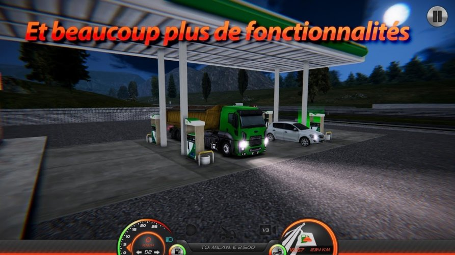 Simulateur de Camion : Europe 2 screenshot 3