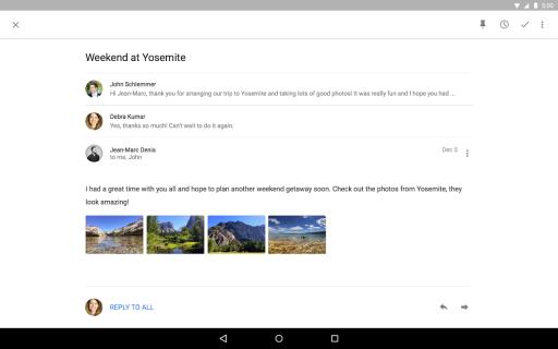 Inbox by Gmail screenshot 3