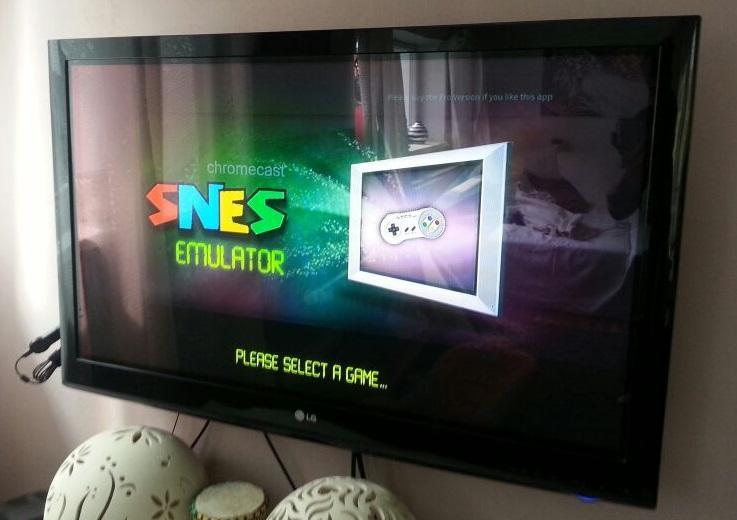 Chromecast SNES Emulator Pro 1 03 Download APK para Android