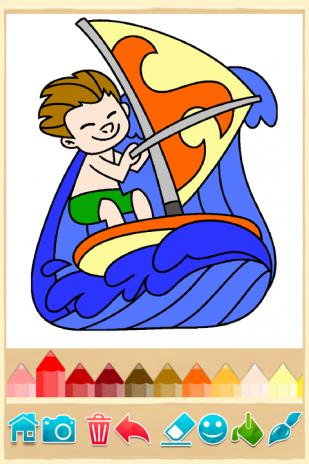 Kids Coloring Game Screenshot 3