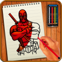 Learn to Draw Super Heroes