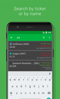 Crypto Tracker - Bitcoin, Ethereum + more tracker screenshot 3