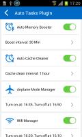 Auto Tasks Plugin Screen
