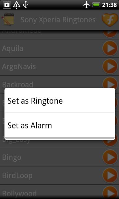 xperia z2 ringtone download
