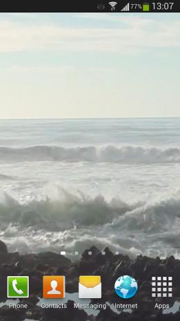 Big Ocean Waves Live Wallpaper 3