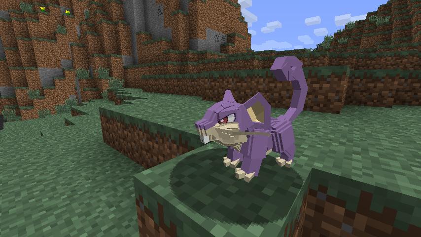 Pixelmon Mods MCPE screenshot 1