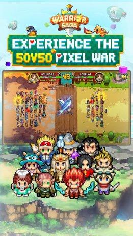 Warrior Saga: NO 1 Free Pixel MMORPG in 2018 5 0 Download