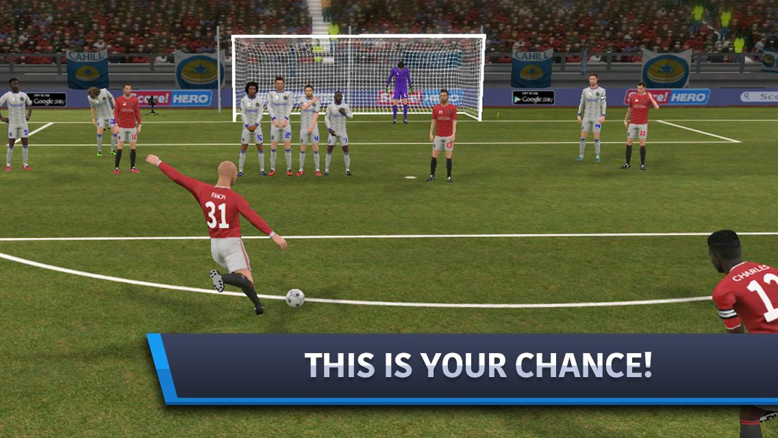 Dream League Soccer 2017 screenshot 1