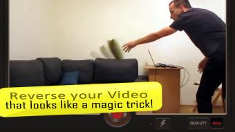 Reverse Movie FX - magic video Screenshot