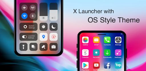 X Launcher Pro: PhoneX Theme, OS12 Control Center 2 6 6