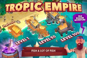 Idle Tropic Empire - Adventure Tycoon Screen