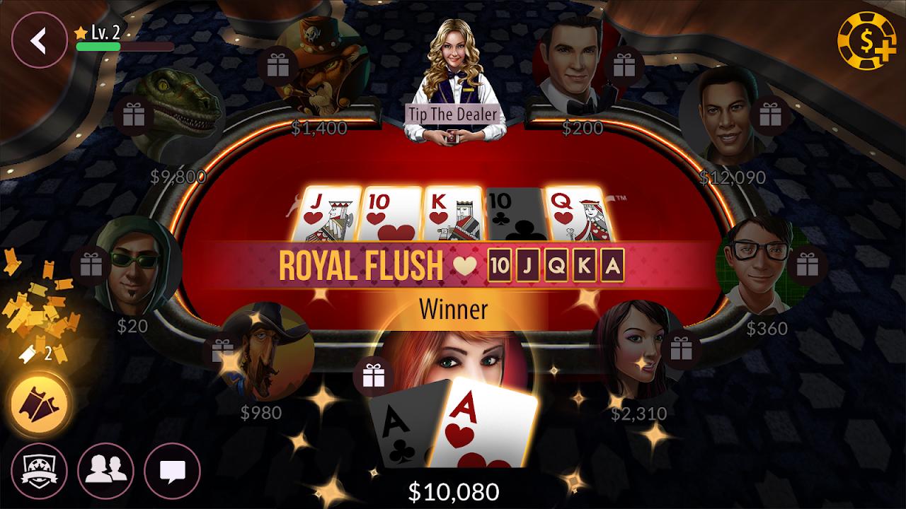 Zynga poker mini games 2 card poker online free
