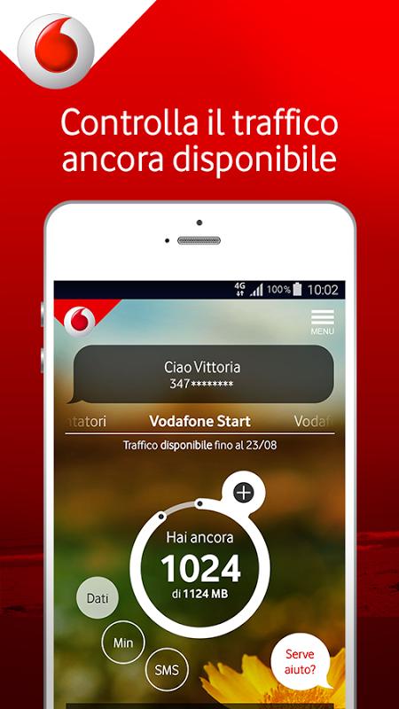 My Vodafone screenshot 1