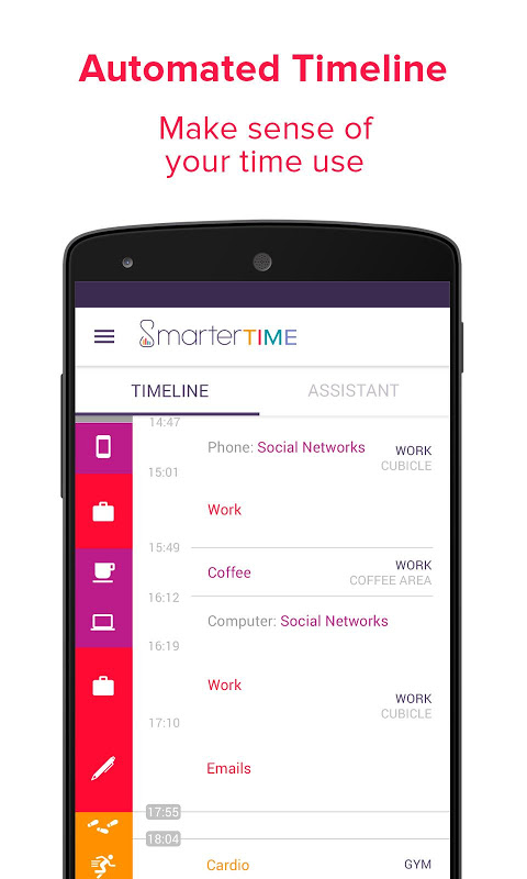 Smarter Time - Time Management - Productivity screenshot 1