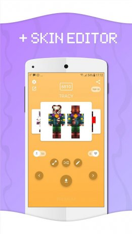 Skins For Minecraft PE Download APK For Android Aptoide - Skins para minecraft pe apk