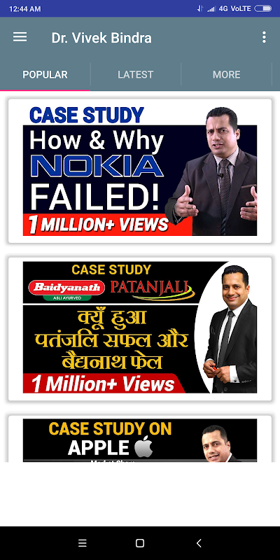 Vivek Bindra Motivation screenshot 1